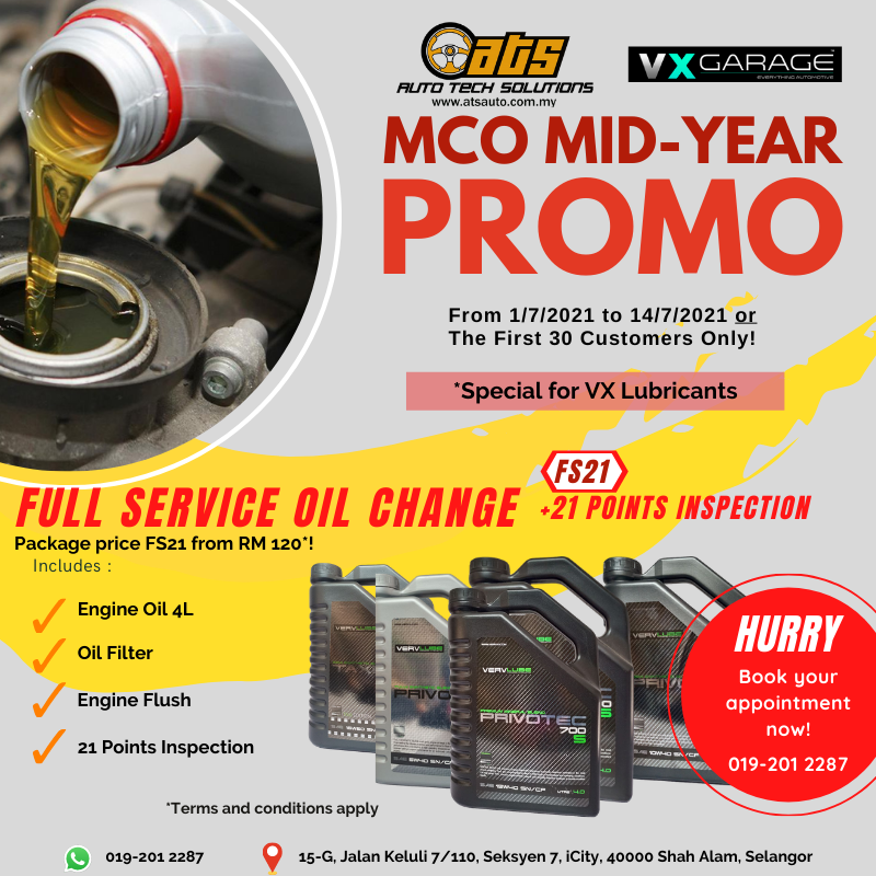 ATS MCO Mid-Year Package For VX Lubricants